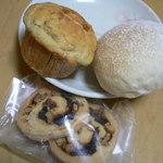 パン ド ムシャムシャ&コーヒー - バナナマフィン、プチパン、クッキー