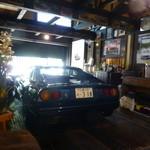 蕎麦切り 才屋 - 店内に飾られたFerrari528S-GTS