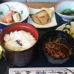 松粂 - このミニ懐石コースがなんと1080円!!