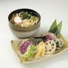 鎌倉 里のうどん - 料理写真:鎌倉野菜の天ぷらうどん