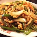 慶珍楼 - 青椒肉絲