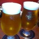 個室 日本酒バル Tokutouseki - ★乾杯生ビール