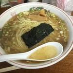 米屋 - トロトロチャーシュー塩 ¥1050肉は隠れてる