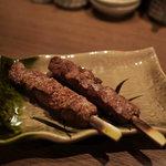 魚豊 - 豚レバー串
