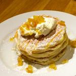 38244805 - レモンリコッタのパンケーキ(950円)