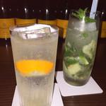 BAR DaMonde - 2015.5 レモンモヒートとマイヤーレモン