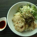 tsuki cafe  - 昆布塩ザンギ丼 1000円