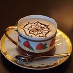 calme - 料理写真:ブルガリ・ドルチデコ ズコットでカフェモカ