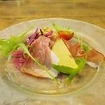フランツィスカーナー バー&グリル - ドイツの前菜3点盛り