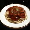 スパゲティ屋くぼやん - 料理写真:デミグラス風のマイルドなミートソース