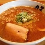 麺屋 田中商店 - 甘海老みそラーメン