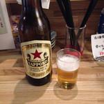 浦和新井商店 - 赤星大瓶480円(税別)