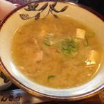 のんき亭 - 豚汁