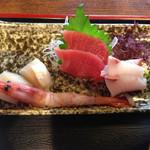 のんき亭 - 刺身定食