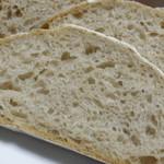 ル・パン・コティディアン - オーガニック小麦のウィートパン;断面
