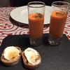 アエスピリトロンパ - 料理写真:トマト美味しい!パンも工夫の一品!