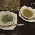 チャイナシャドー - に付いてきたソース。葱生姜、わさび。