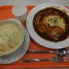 ミートハウス Kitchen たか - 料理写真:オムライス+ドリア ¥734-