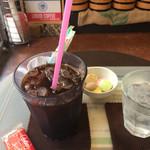 おおつか - アイスコーヒー ・ マカロンラスク