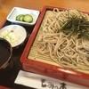 もみの木 - 料理写真:好きなタイプのそば! ざる 750円 長瀞いいわ!