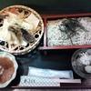 そば処 高山 - 料理写真:天ざるそば¥1450(H26.7.7撮影)