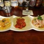 メキシカン サボ - おつまみ(メキシカンな3種盛り)セット