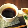 草の葉 - 料理写真:一杯一杯丁寧にお作りするウガンダ産の自然栽培コーヒー
