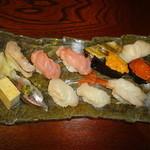 いらぶ - 料理写真:特上にぎり(2500円)