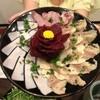 樽一 - 料理写真:4種類の鯨肉部位。