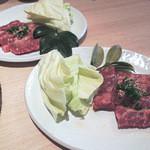 焼肉 味道良 - 料理写真:タイムランチの焼肉2人前