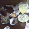 珈琲 花居 - 料理写真:花居ブレンドとゆずハニードリンク¥450