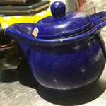 38351173 - 温かいジャスミン茶(ポット¥300)