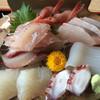 ドライブインやまだ - 料理写真:刺身定食(¥1850)