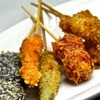 坦坦麺 利休 - 料理写真:夜 串カツ 変わり種も