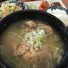 焼肉 古里屋 - 料理写真:ランチの半参鶏湯
