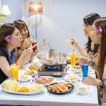 チュラティーダ - 料理写真:【しゃぶしゃぶディナー】みんなで集まる時にはぜひ♪