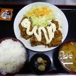 お好み焼たっちゃん - チキン南蛮定食