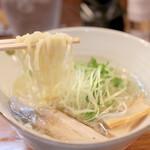 麺屋 軌跡 - 鯛塩ラーメン 平太手もみ麺 (720円) '15 4月中旬
