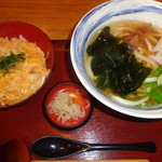 杵屋 - 親子丼セット