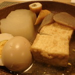 丸亀 - 料理写真:さりげなくうまいおでん