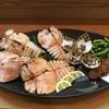花ぎり - 料理写真:うちわ海老の塩焼き
