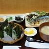 おにぎりのさんかく山 - 料理写真:焼き魚定食