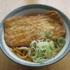 女形谷パーキングエリア(下り線)フードコート - 料理写真:竹田のあげうどん