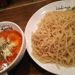 ちゃが商店 - トマトつけ麺大盛り:850円