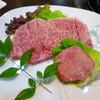 牛亭 - 料理写真:特製和牛タン厚切り 特選和牛ロース厚切り