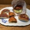 もあ四季彩館 - 料理写真:ジャーマンフランク、カレーパン、ジャンボメンチカツバーガー、カマンベールチーズ。