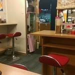 東京ラーメンつけ麺 - 店内