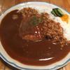 ジャックと豆の木 - 料理写真:ハンバーグカレー