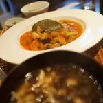 ねじ式 - 日替わり(豚バラ野菜トマト煮込み