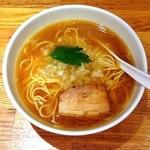 三四郎 - 煮干し中華そば¥690